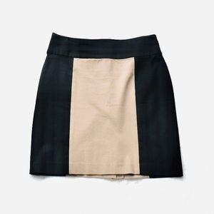 Banana Republic Khaki and Black  skirt SZ 4P